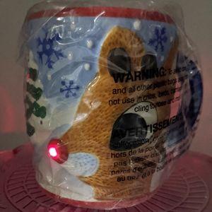Rudolph Musical Light Up Mug Cup